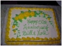 Congratulations Bill and Lois on your 50th Wedding Anniversary !!!