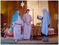 Mary and Joseph meet the census taker, Jen.